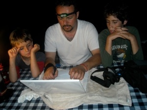 Writing the 1st novel - a family effort!