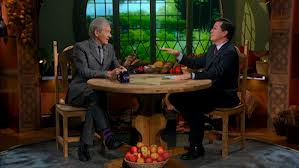 Colbert and Sir Ian McKellen (Gandalf)