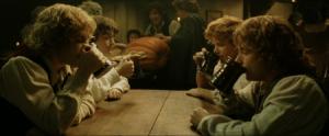 hobbits in pub