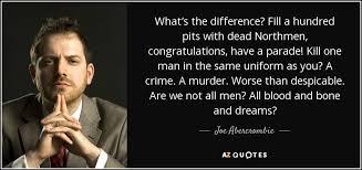 Joe Abercrombie Quote